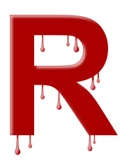 letter_dripping_R