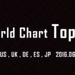 それぞれ特徴がおもしろい!世界のチャートTOP10を見てみる2016年6月